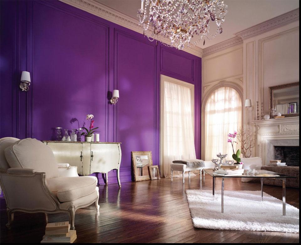 Purple-Wall-Color-Design